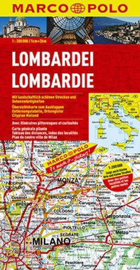 neuveden: Itálie - Lombardie/mapa