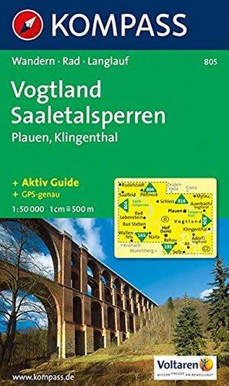 neuveden: Vogtland,Plauen 805 / 1:50T NKOM
