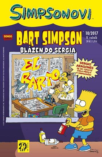 Groening Matt: Simpsonovi - Bart Simpson 10/2017 - Blázen do Sergia