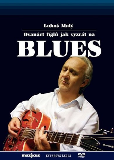 Malý Luboš: 12 fíglů jak vyzrát na blues - Kytarová škola - DVD