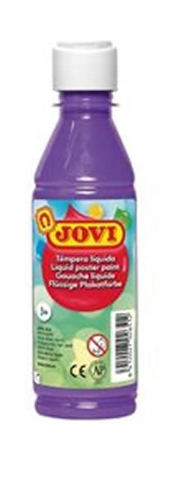 neuveden: JOVI temperová barva 250ml v lahvi fialová
