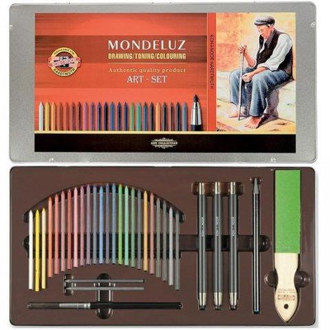 neuveden: Koh-i-noor souprava akvarelových pastelek 24 ks Mondeluz art