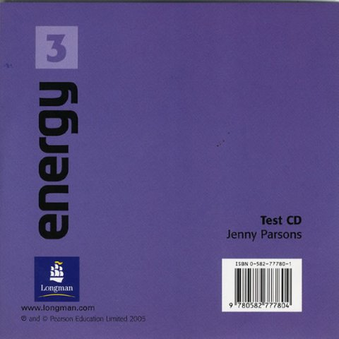 Pearson Jenny: Energy 3 Test CD