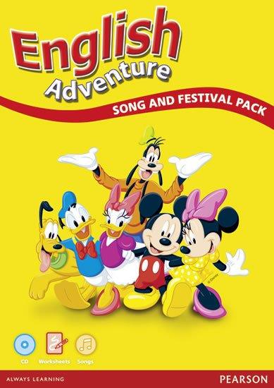 Lambert Viv, Worral Anne: English Adventure (Workbook, Audio CD) Song/Festival Pack
