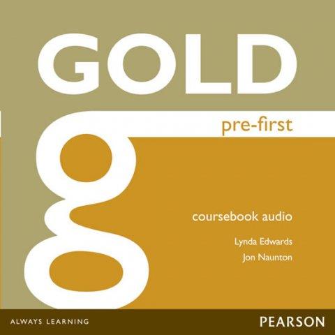 Edwards Lynda, Naunton Jon: Gold Pre-First 2014 Class Audio CDs