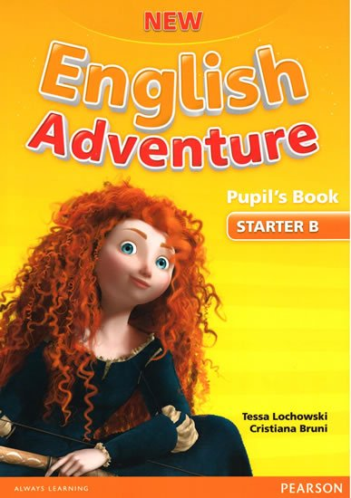 Worrall Anne: New English Adventure STA B Pupil´s Book w/ DVD Pack