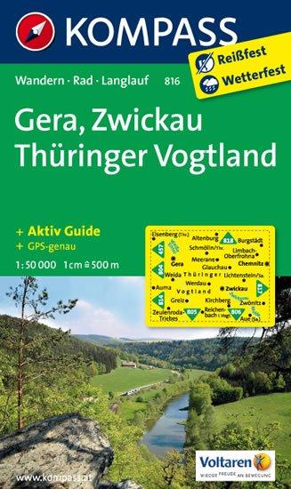 neuveden: Gera,Zwickau Thüringer Vogtland 816 1:50T NKOM