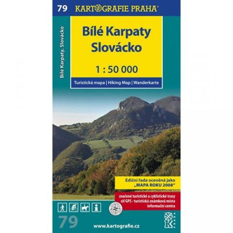 neuveden: 1: 50T (79)-Bílé Karpaty (turistická mapa)