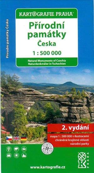 neuveden: Přírodní památky České republiky/1:500 tis.(tematická mapa)