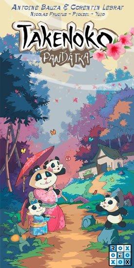 neuveden: Takenoko: Panďátka/Společenská hra