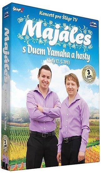 neuveden: Duo Yamaha - Majáles s Duem Yamaha a hosty - 3 DVD
