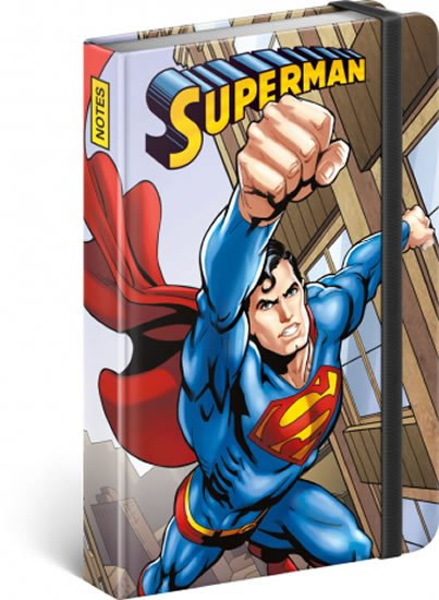 neuveden: Notes - Superman – Day of Doom, linkovaný, 10,5 x 15,8 cm