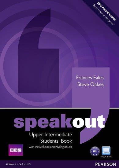 Oakes Steve: Speakout Upper Intermediate Students´ Book w/ DVD/Active Book/MyEnglishLab