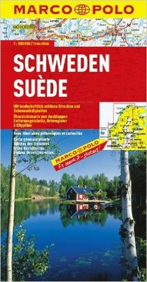 neuveden: Švédsko/mapa 1:800T MD