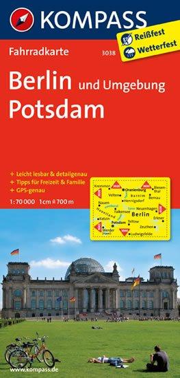 neuveden: Berlin und Umgebung,Postsdam 3038 / 1:70T KOM