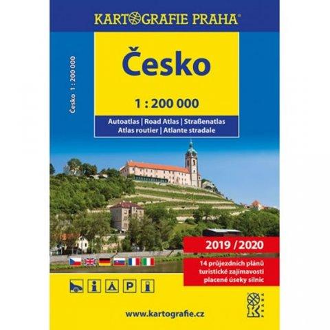 neuveden: Česká republika - autoatlas 1:200 tis.
