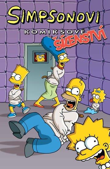 Groening Matt: Simpsonovi Komiksové šílenství