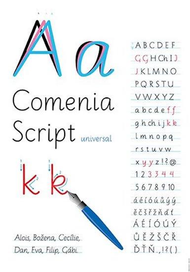 Lencová Radana: Comenia Script (1. ročník) - plakát