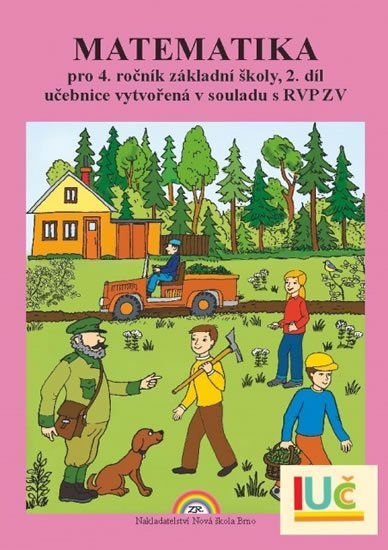 Rosecká Zdena: Matematika pro 4. ročník ZŠ, 2. díl - učebnice