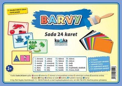 Kupka Petr a kolektiv: Barvy - Sada 24 karet