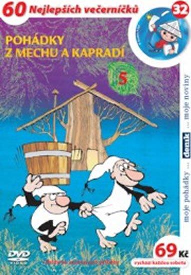 Smetana Zdeněk: Pohádky z mechu a kapradí 5. - DVD