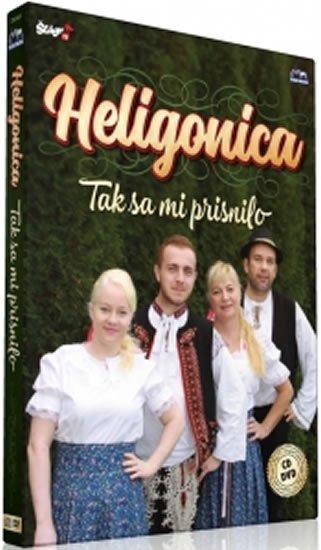 neuveden: Heligonica - Tak sa mi prisnilo - CD + DVD