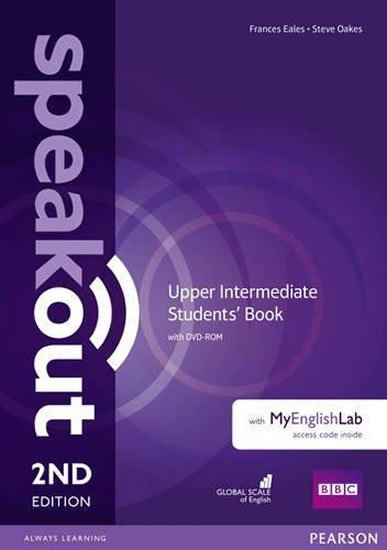 Eales Frances, Oakes Steve: Speakout Upper Intermediate Students´ Book w/ DVD-ROM/MyEnglishLab Pack, 2n