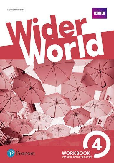 Williams Damian: Wider World 4 Workbook w/ Extra Online Homework Pack