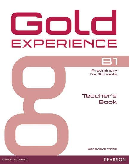 White Genevieve: Gold Experience B1 Teacher´s Book