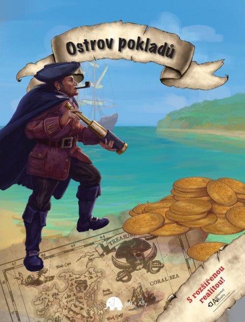 Stevenson Robert Louis: Ostrov pokladů s rozšířenou realitou