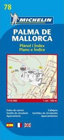 neuveden: Palma De Mallorca - Mapa 78