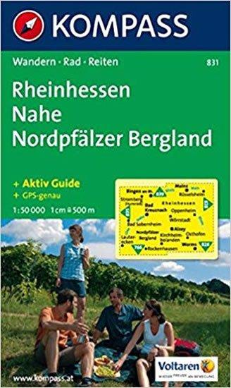 neuveden: Rheinhessen,Nahe,Nordpfälzer,Bergland 831 / 1:50T NKOM