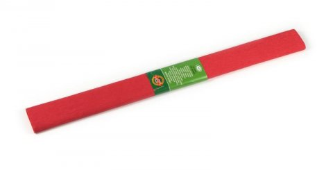 neuveden: Koh-i-noor papír krepový červený tmavý