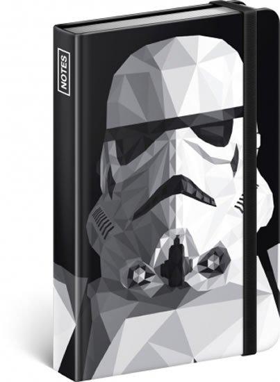 neuveden: Notes - Star Wars – Clone, linkovaný, 10,5 x 15,8 cm