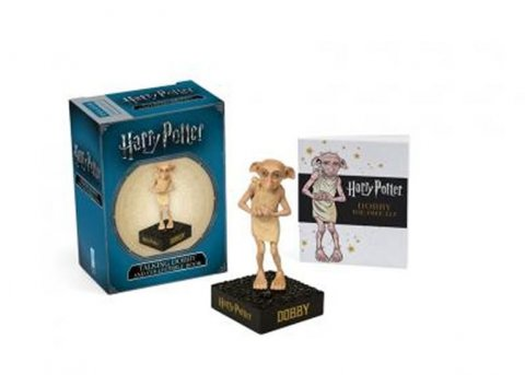 neuveden: Harry Potter Talking Dobby and Collectible Book