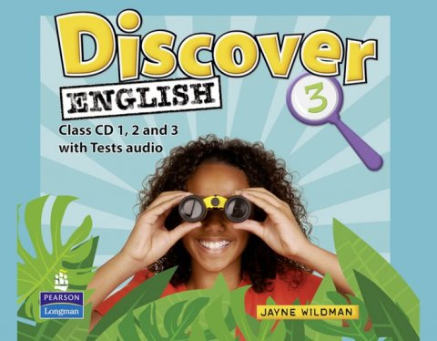 Wildman Jayne: Discover English Global 3 Class CDs