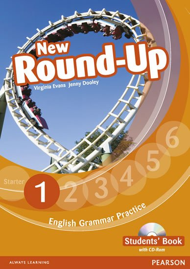 Dooley Jenny: Round Up 1 Students´ Book w/ CD-ROM Pack