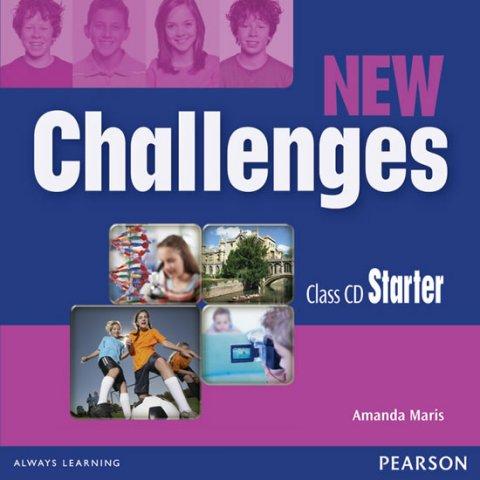 Maris Amanda: New Challenges Starter Class CDs