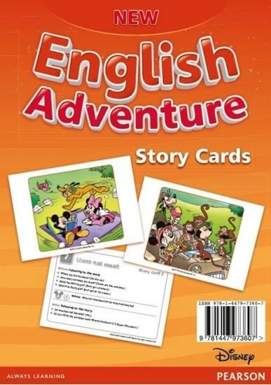 Worrall Anne: New English Adventure 2 Storycards
