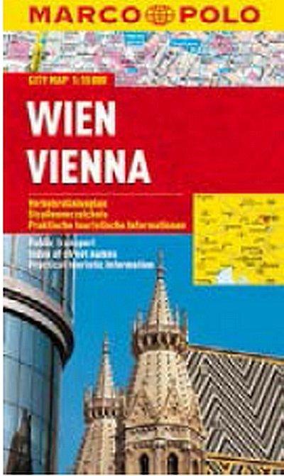 neuveden: Wien/Vienna - City Map 1:15000