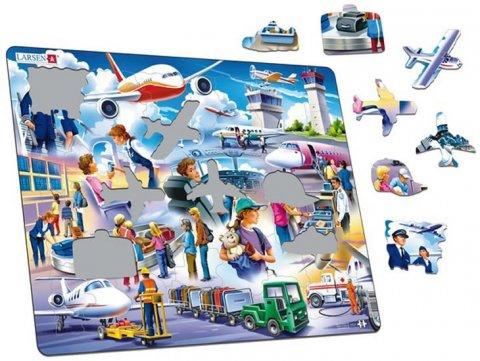 neuveden: Puzzle MAXI - Letiště/42 dílků