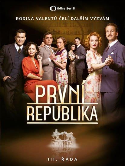 neuveden: První republika III. řada - 4 DVD