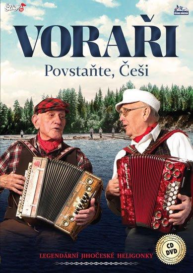 neuveden: Voraři - Povstaňte češi - CD + DVD