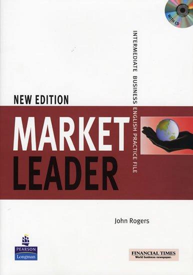 Rogers John: Market Leader New Edition Intermediate Practice File w/ CD Pack
