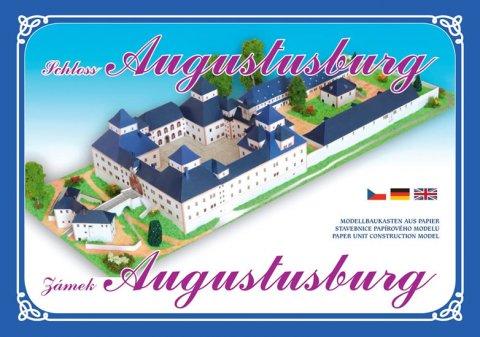 neuveden: Zámek Augustusburg - Stavebnice papírového modelu