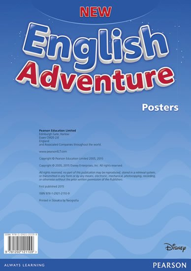 neuveden: New English Adventure Starter A Posters