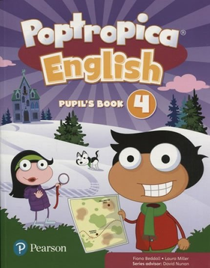 Beddall Fiona: Poptropica English Level 4 Pupil´s Book + PEP kód elektronicky