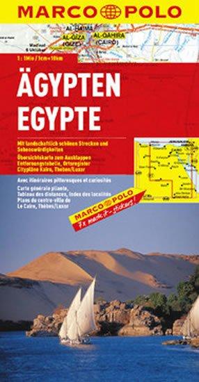 neuveden: Egypt /mapa