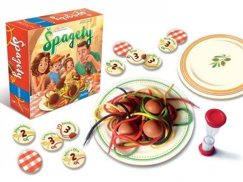 neuveden: Špagety - hra