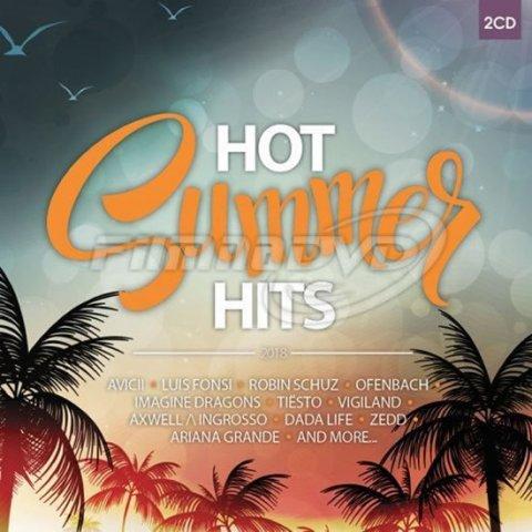 Různí interpreti: Hot Summer Hits 2018 - 2 CD